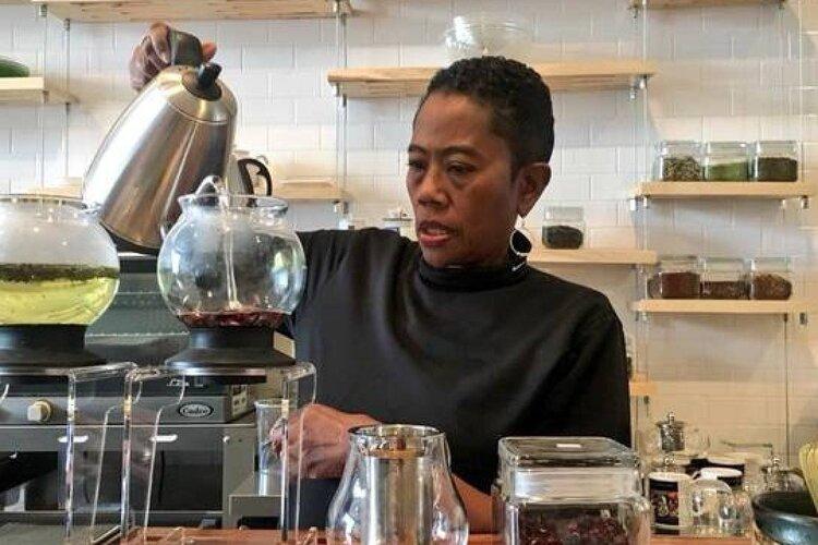 black owned coffee tea shop denver