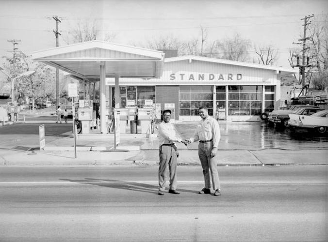 Standard station 29th and Colorado Blvd, Denver