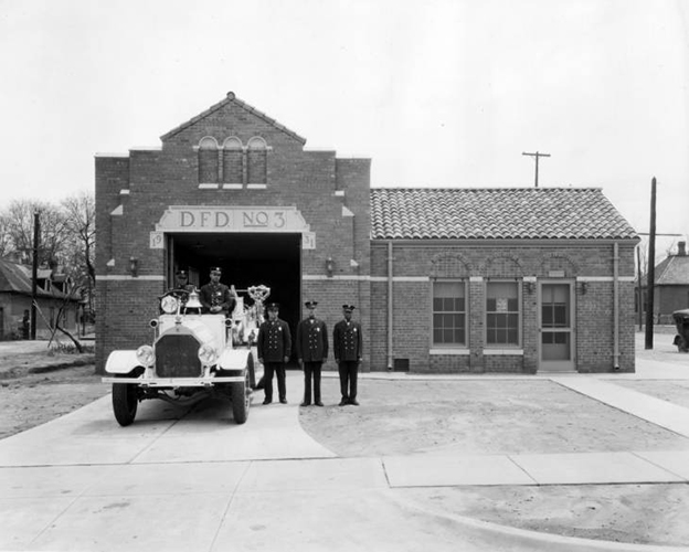 Only colored fire company in Denver 1931